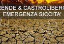 Rende e Castrolibero: Emergenza carenza idrica – 15/09/2017